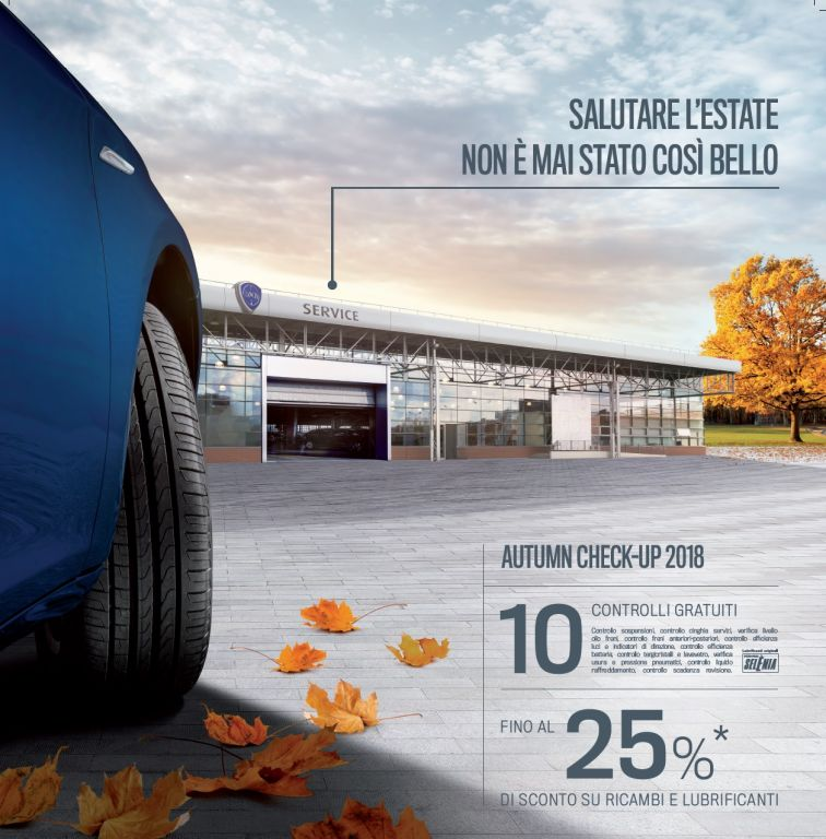 AUTUMN CHECK-UP 2018 LANCIA
